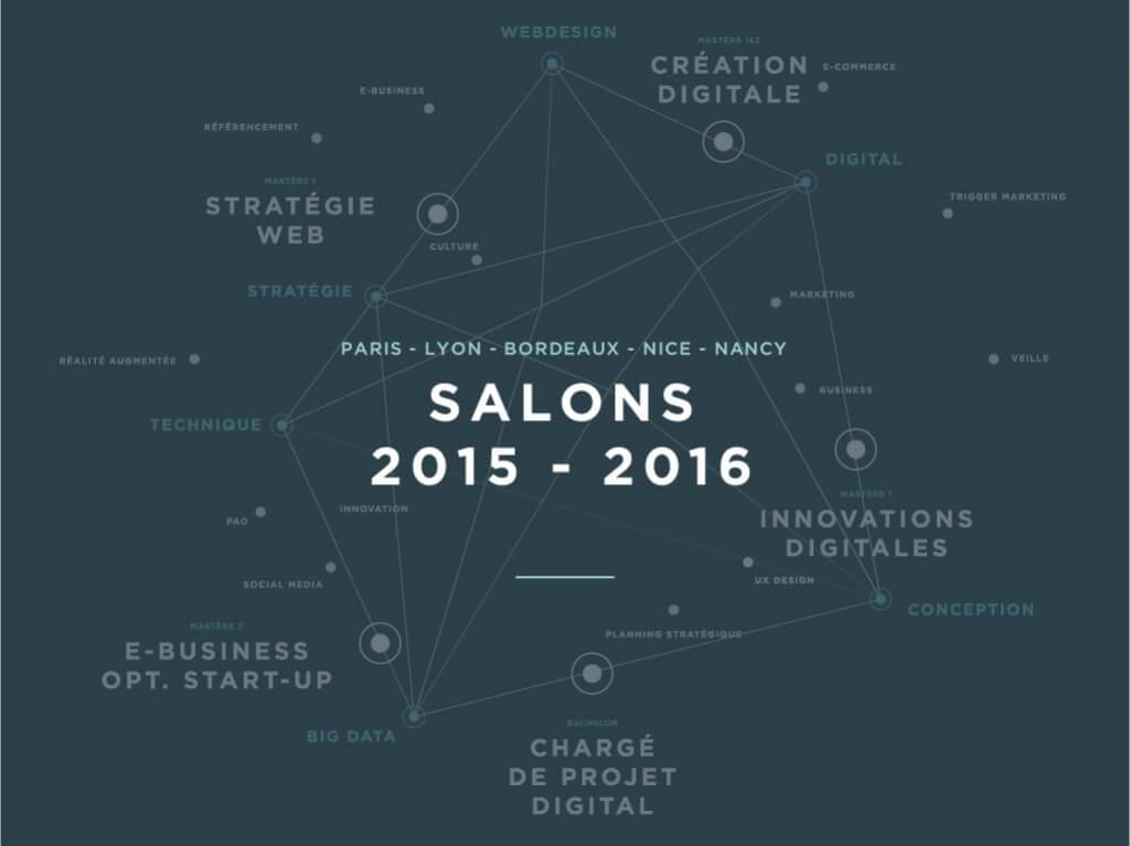 Les salons 2015 2016 cole sup rieure du digital for Salon du digital