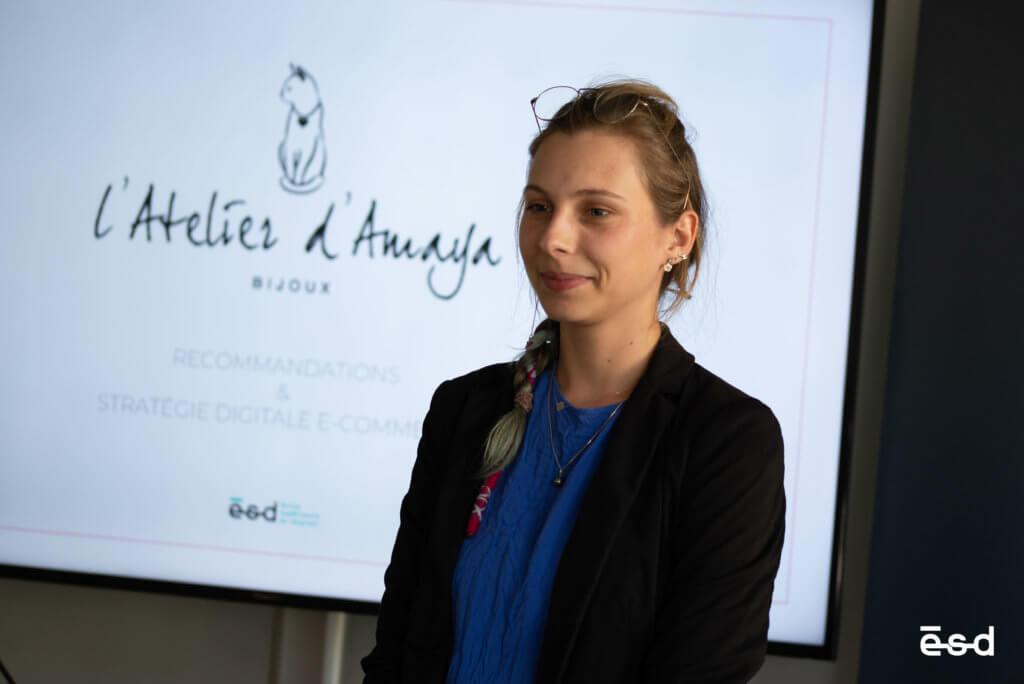 Projet E-Commerce Atelier d'Amaya M1 ESD Bordeaux 2