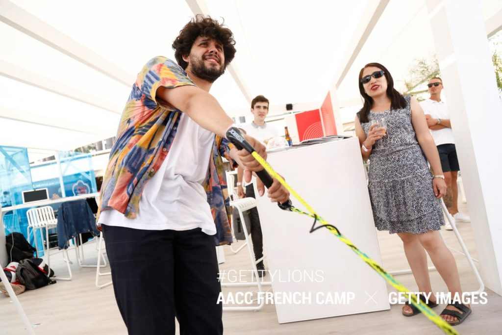 Partenariat JCDecaux French Camp Festival Cannes Lions 2019
