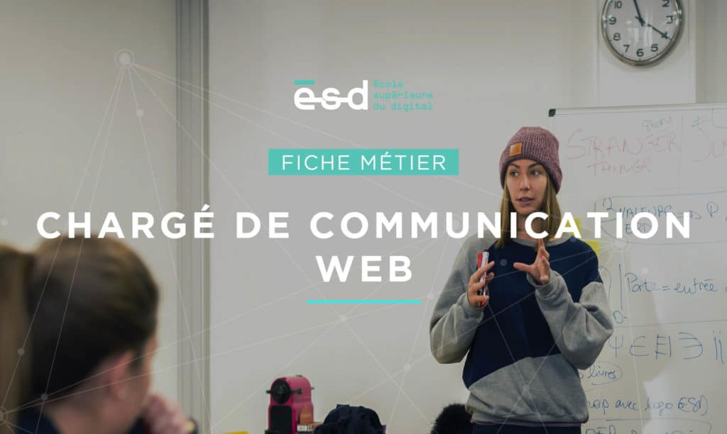 Fiche métier ESD Chargé de communication web