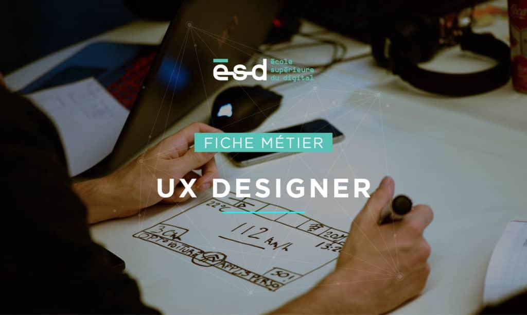 Fiche métier ESD UX Designer