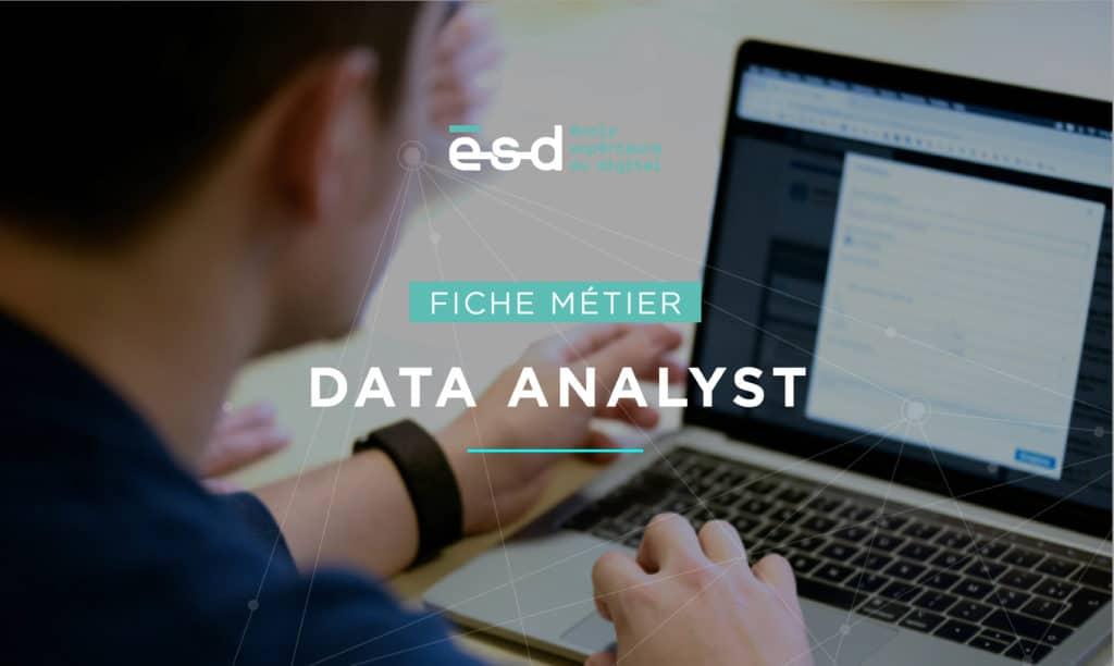 Fiche métier ESD Data Analyst